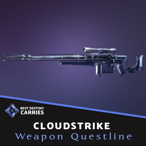 Cloudstrike Exotic Sniper Rifle Farming & Boosting