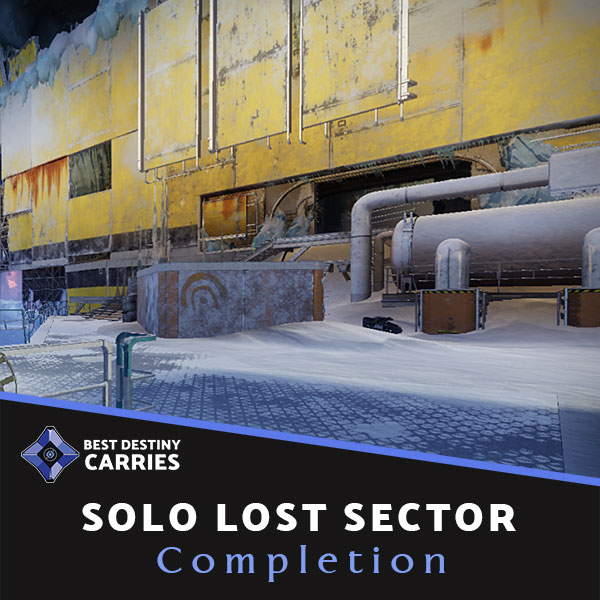 Solo Lost Sector Boosting carry Service