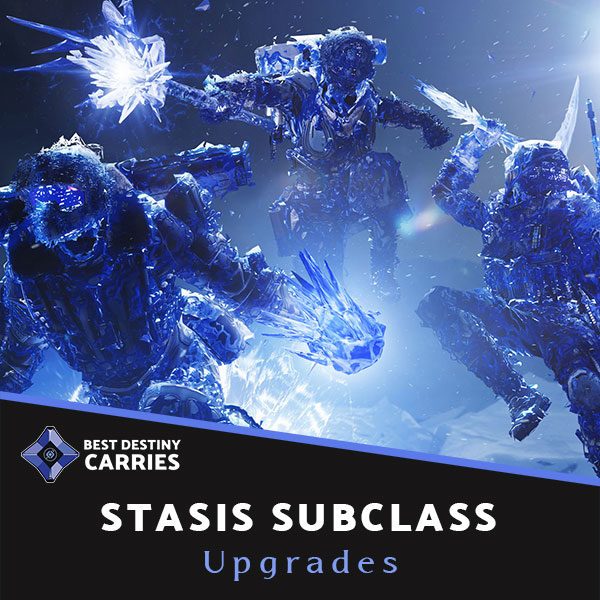 Stasis Subclass Upgrade Boosting Service