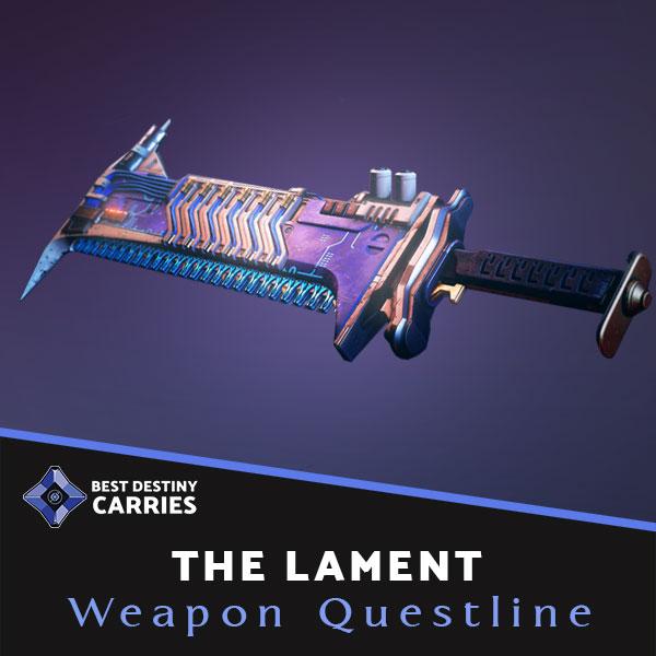 The Lament exotic sword questline boosting service