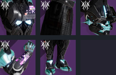 legacys oath titan armor set