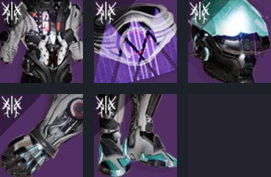 legacys oath armor set for warlock