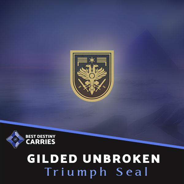 Gilded Unbroken Triumph Seal