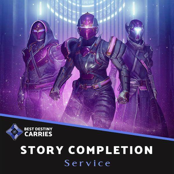 Destiny 2 campaign boosting service